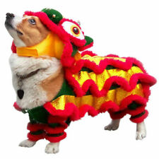 Chinese Style Pet Makeover Funny Clothes Dog Costume Lion-Dance Dragon Dance Hot