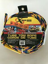 XPS - TUBE TOW ROPE - 2 Rider  - 2 Passenger - NEW - 60 ft