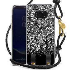 Samsung Galaxy S8 Plus Hülle zum Umhängen Handykette Carry Case - Snow Fall