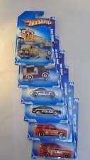 Lot of 6, Hot Wheels Hw City Works '09 series,#2 x 2, #3 x2, #7, #10 Unopened