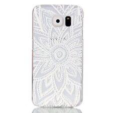 Étuis, housses et coques blancs transparente en plastique rigide pour téléphone mobile et assistant personnel (PDA) Samsung