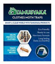 Moth Killer Traps  Natural Powerful Pheromone Enhanced Safe Non-Toxic 6 Pack