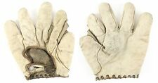 Circa Early 1900's, Draper & Maynard, Full Web, White Baseball Glove, EX Cond.