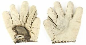 Circa Early 1900's, Draper & Maynard, Full Web, White Baseball Glove, EX Cond.
