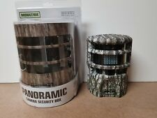 MOULTRIE P150 PANORAMIC TRAIL GAME CAMERA AND LOCKING SECURITY BOX COMBO