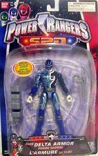 """Power Rangers SPD Metallic Armor Blue 5"""" Ranger New Factory Sealed 2004"""