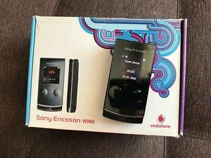 Sony Ericsson W980 - Black (Unlocked) Smartphone *VINTAGE*COLLECTIBLE*
