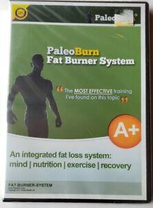 Paleo Burn Fat Burner System integrated fat loss system Computer DVD rom.