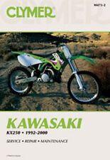 Clymer Repair Service Shop Manual Vintage Kawasaki KX250 92,93,94,95,96,97,98-00