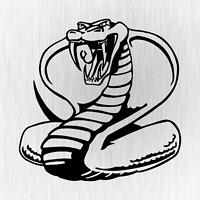 Cobra Snake Schlange Tuner Tuning Schwarz Auto Vinyl Decal Sticker Aufkleber