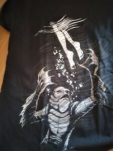 Loot Fright Exclusive The Creature From the Black Lagoon Black T-shirt