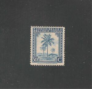 Belgium Congo #192 (A72) VF MINT LH - 1942 30c Oil Palm Trees