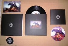 """Blood Axis Wir Rufen Deine Wölfe / The Ride 7"""" Black box-set Ltd 15 Copies"""