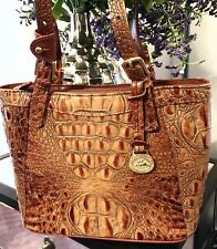 Brahmin Tote in Toasted Almond. Gorgeous Vintage Shoulder Bag. EUC! VERY Pretty