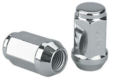 Set of 24 Chrome 12x1.5 Bulge Acorn Closed Ended Lug Nuts 1992-2011