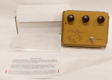 Klon Centaur Professional Overdrive Gold Guitar FX Effect Pedal W/ Box & Manual