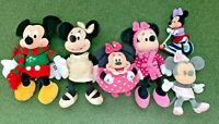 Various Mickey & Minnie Mouse plush soft toys - MULTI LISTING - Disney