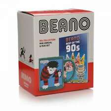 OFFICIAL BEANO COMICS BEST OF THE 90S MINI ANNUAL AND COFFEE MUG GIFT SET