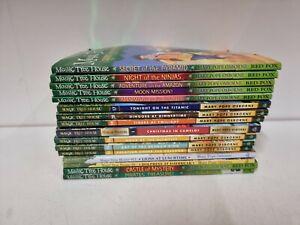 Mary Pope Osbourne Magic Tree House 16 Books (JT)