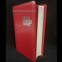 """Biblia de estudio ISHA para MUJER  TLA Lenguaje Actual """"CON SU NOMBRE GRABADO"""""""