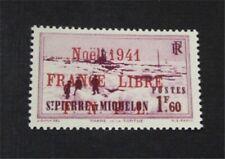 nystamps French St. Pierre & Miquelon Stamp # 272 Mint OG H $58 Signed  U18y3292