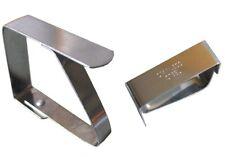 4 Tischklammer Edelstahl Tischtuchklammer Tischklammern Tischtuchhalter 783