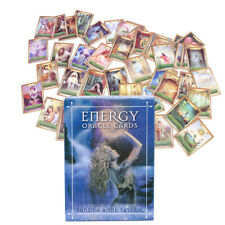 53 Full Color Cards Energy Oracle Tarot Cards Deck Kit Set Fantasy Cards
