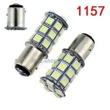 2Pcs 1157 27-SMD LED Bulbs Lights Xenon White DRL for Volkswagen Jetta  Beetle