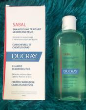 Ducray Sabal Sebum/Sebo-Reducting Treatment Shampoo 200 ml for Oily Greasy Hair