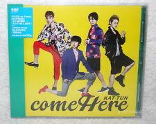 KAT-TUN come Here 2014 Taiwan CD only (w/bonus two tracks「SUNRISE」)