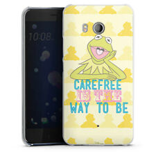 HTC U11 Handyhülle Case Hülle - Muppets Carefree is the way to be