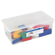 Contenitori e scatole in plastica trasparente per la casa