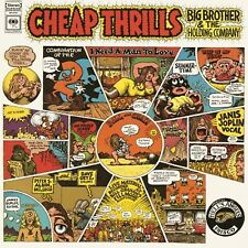 JANIS JOPLIN 'CHEAP THRILLS' BRAND NEW SEALED RE-ISSUE LP ON 180 GRAM VINYL