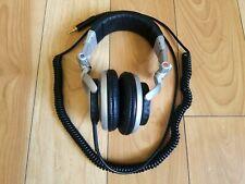 Sony MDR-V700 Headband Headphones Silver Over Ear Folding DJ Made Japan TESTED