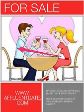 AFFLUENTDATE.COM - BEST DOMAIN NAME FOR YOUR DATING SITE!!! - SOCIAL NETWORKING