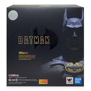 Bandai SHF S.H. FIGUARTS Batman 1989 Michael Keaton Figure In Stock USA Seller