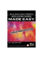 Rock Guitar Chords Made Easy Learn to Play Present Gift MUSIC BOOK Guitar