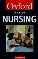 A Dictionary of Nursing - Tanya A McFerran - Oxford - Acceptable - Paperback