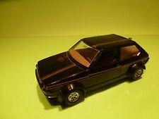 BBURAGO 0168 FIAT RITMO ABARTH - GOLD BLACK 1:24 - RARE SELTEN - GOOD CONDITION