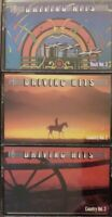 """3x LOT COUNTRY/ ROCK """"DRIVING"""" CASSETTE TAPES Classic Song Hits 60s 70s GD fr/sh"""