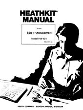 Heathkit HW-101 SSB Transceiver Assembly & Operation 245 page digital Manual