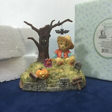 Cherished Teddies Halloween is a Boo-tiful Thing 119912 Fall Enesco Vintage