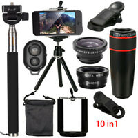 10 in 1 Phone Camera Lens Top Travel Kit For Mobile Smart CellPhone Accessories