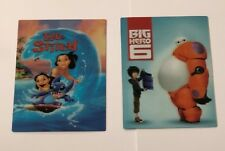 BIG HERO 6 & LILO AND STITCH 3D  MAGNETS FOR STEELBOOK,FRIGE - KIDS GIFT