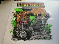 Jurasskix Eliminator Bikes Iron On T-Shirt Transfer Tee Shirt Art 1994 L/XL