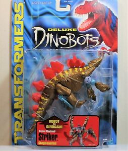 Transformers Beast Machines DINOBOT STRIKER Deluxe Class, MOSC/New (2000 Hasbro)