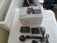 Canon EOS M3 fotocamera digitale 24.0MP - Nero (Kit con 15-45mm - M EF STM Lens) IS