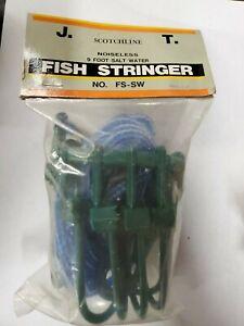 9-foot Heavy Duty Deluxe Saltwater Fish Stringer