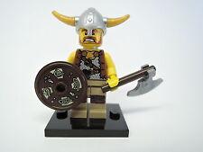 LEGO personaggio Sammelfigur serie 4 n. 6 vichinghi merce nuova + PIASTRA col054
