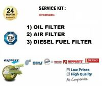 Filtro Olio + Aria + Carburante per Land Rover Freelander 2.0 Td4 4x4 2001-2006